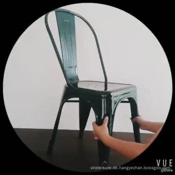 Metallesszimmer-Möbel-Art moderner speisender Stuhl