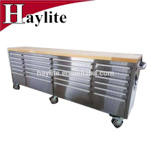Haylite stainless steel workbench tool cabinet big tool chest with wheels stainless steel workbench tool cabinet big tool chest with wheels