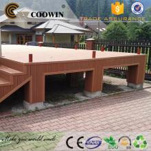 Outdoor-Kunststoff-Holz Fassade konstruierte Bodenbelag