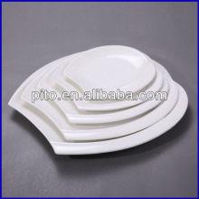"8""10""12""14""16"" porcelain oval plate"