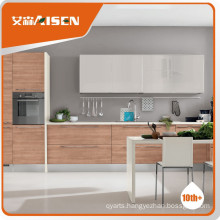 Various models wood veneer modern kitchen cabinets