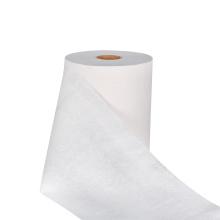 Papel higiénico de 4 capas sin perfume de patrón blanco