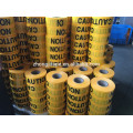"3"" * 300' pe yellow caution tape"