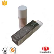 caja de tarjeta de papel barata para envases cosméticos