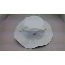 wholesale cheap bucket hats with embroidery and printed logo