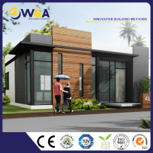 (WAS3505-110S)Prefabricated Luxury Villa House as Modular Concrete Homes From China