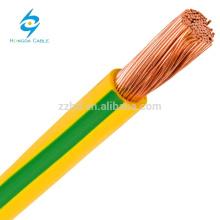 Cabo blindado de cobre flexível H07RN-F do fio de aço da borracha de silicone 450v flexível