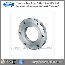 GOST padrão de fundição de aço carbono tubo de óleo de água fornecer flanges face plana 12820-80