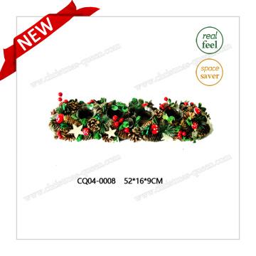 52 * 16 * 9cm Cherry Candlestick Craft Plastic Christmas Wedding Decoration