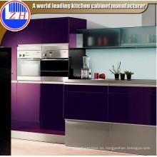 Gabinete de cocina de alto brillo (zhuv)
