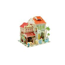 Brinquedo de brinquedos de madeira para casas globais