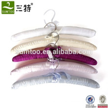 padded hanger high quality cotton bulk clothes hangers