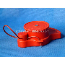 Approve CE length 1.8m and cable diameter 5mm ABS cheap industrial safety lockout devices