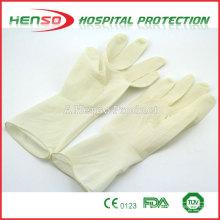 Luvas cirúrgicas descartáveis de látex HENSO