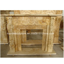 Natural Stone Cheap Marble Fireplace (SY-MF197)