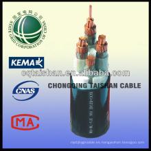 Cables de alimentación de goma de silicona