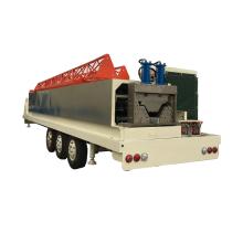 SX-ABM-1000-630 hydraulic no pillar/column zinc-plate steel sheet depository cold roll forming machine