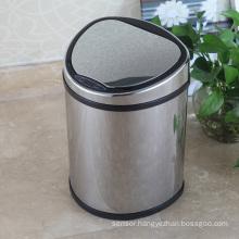 Metal Creative Aotomatic Sensor Waste Bin for Home/Office/Hotel (D-12LB)