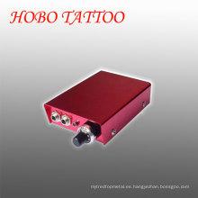 Venta caliente mini fuente de alimentación del arma del tatuaje HB1005-5