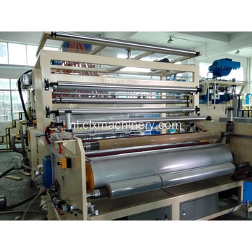 Kunststof machines Stretch en Cling Film Rewinding Machine