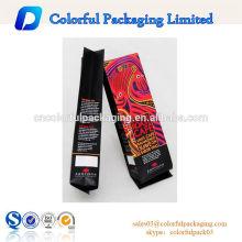 250g folha de alumínio koffee / coffee bag com entalhe rasgo / chão / saco de embalagem de café torrado