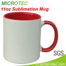 Sublimation Becher mit Farbe im Inneren für Wärmetransferdruck (MT-B002H)