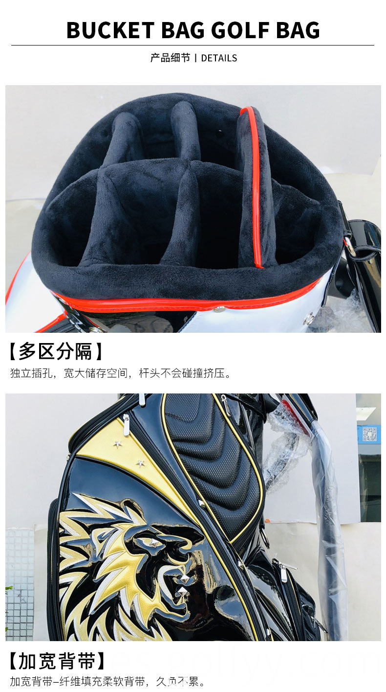 PU Leather Golf bag