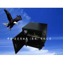 Трехфазная внутренняя медная катушка Трансформатор сухого типа с черной оболочкой / коробкой