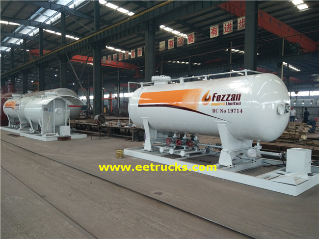 20 CBM LPG Skid Filling Stations