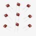 Qualité brillante de l'usine Topmay Electronics Condensateur à film polyester métallisé Mkt-Cl2