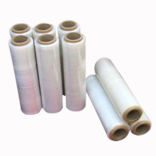 Factory Manual Dispenser Plastic Transparent Colored Pallet Hand Wrap PE Stretch Film for packaging