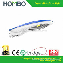 IP65 EE.UU. Bridgelux chip luz de calle llevada al aire libre / 30W 40W 50W llevó luz de calle solar