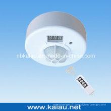 Détecteur de mouvement PIR à télécommande au plafond avec télécommande (KA-WR01)