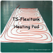 flexibag heating pad for palm oil transportation