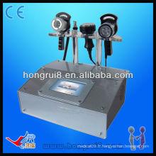 Machine amincissante multi-rf de salon portable HR-886A, machine à beauté amincissante à ultrasons Cavitaiton