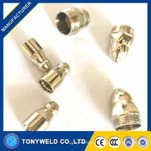 jiusheng130 plasma cutter consumables electrode and nozzle