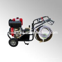 Motor diesel con lavadora de alta presión y ruedas (DHPW-3600)