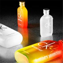 Impresión del logotipo de la botella de cristal de encargo imprescindible Oi