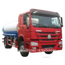 Motor diesel 4x2 Camión cisterna de petróleo 10000 litros
