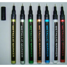 Thin Barrel Paint Marker with Nice Paint Metal Color Design