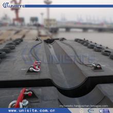 steel construction platform for dredging and marine construction(USA-2-003)