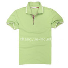 Fabricación de camisa Polo Classic hombre llano en China