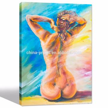 Femmes Peinture Art / Girl Sexy Image Décoration murale / Vente en gros Peintures de salon
