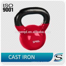 Kettlebells de goma de hierro fundido 50kgs
