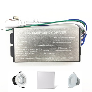 Kit de Emergencia LED 3-40W 120 Min