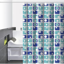 Waterproof Bathroom printed Shower Curtain for Shower Stall