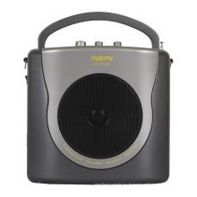 Портативный усилитель с эхо, USB, SD и беспроводной ручной микрофон