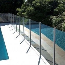 12mm Toughened Pool Fence Glass with Australia Standard