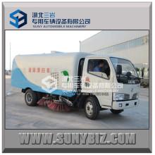 Brand New 5cbm Road Sweep Truck mit Reinigungsbürsten