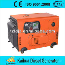 ISO: 9001-2008 approved prime power 4.6KW Air-cooled soundproof Diesel Generator Set
